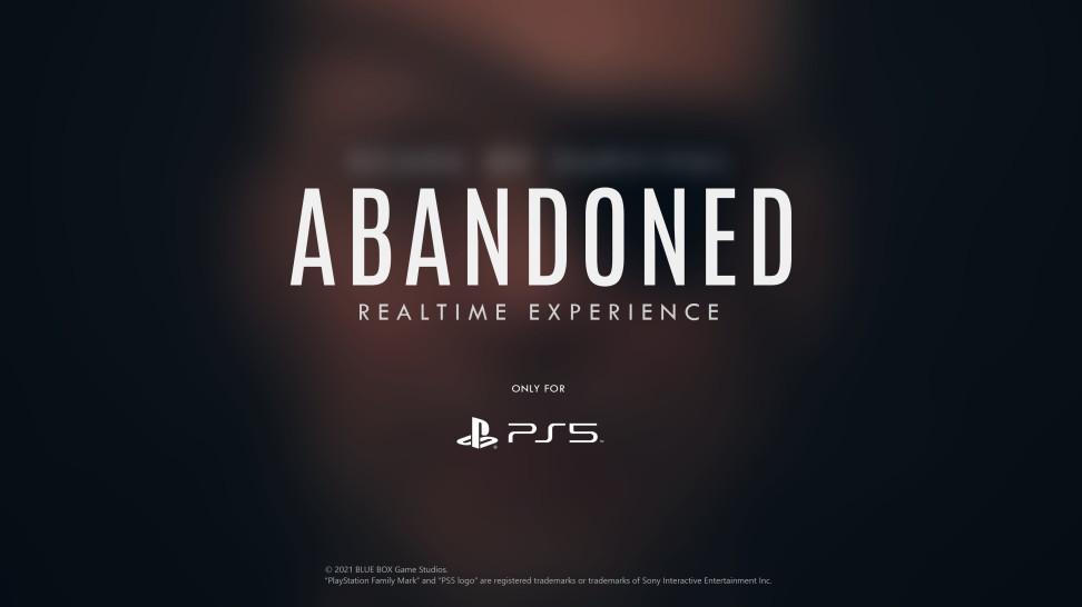 Создатели Abandoned опять играют с огнём — на новой картинке-тизере проглядывается человек с глазной повязкой