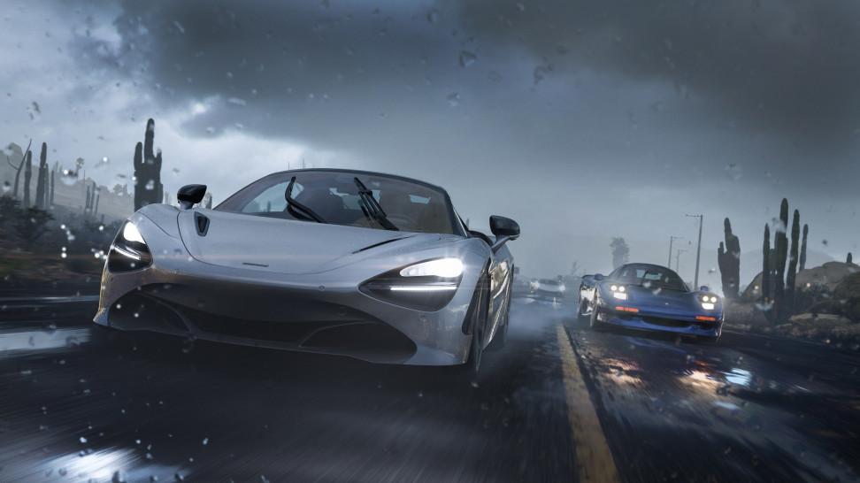 О разнообразии погоды в Forza Horizon 5