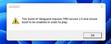 Valorant не работает на Windows 11, если не включены TPM 2.0 и Secure Boot, — это новый слой защиты от читеров