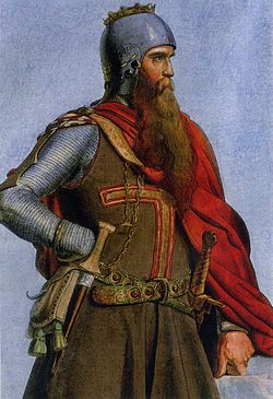 Фридрих IБарбаросса. Король Германии иИмператор Священной Римской империи.