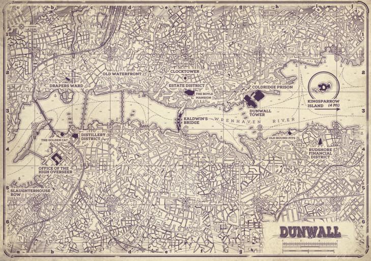 Карта Дануолла