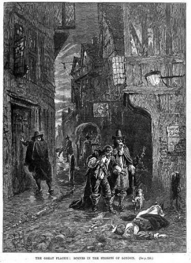 Великая чума вЛондоне. 1665 год.<br>