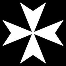 Герб Ордена Госпитальеров.
