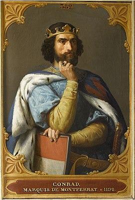 Конрад Монфератский. Сын Вильгельма.