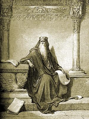 Царь Соломон. Возможный автор «Книги Екклесиаста». Втексте книги сам себя автор называет Екклесиаст.
