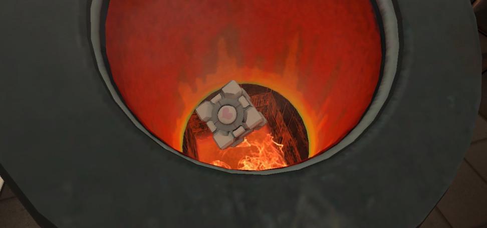Кубики должны гореть в аду
