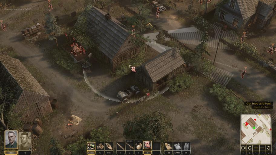 Невзрачная гамма лишний раз подчёркивает идею игры отом, что любая война— трагедия для большинства еёучастников.