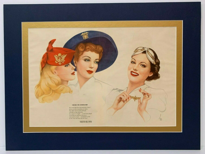 Pin Upизжурнала Esquire. Октябрь 1941 год