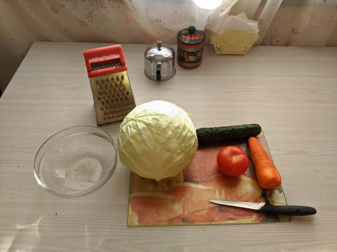 Ингредиенты и кухонный инвентарь