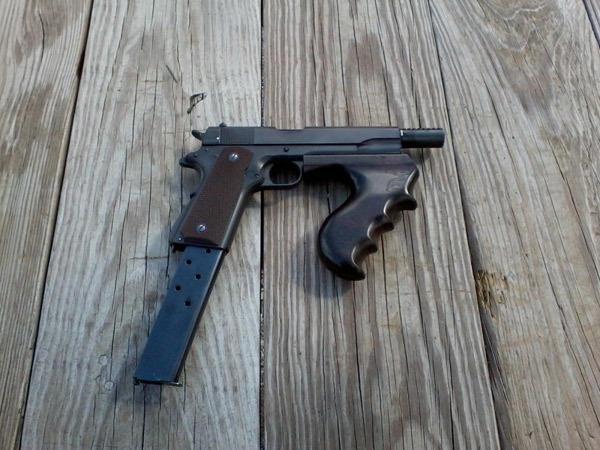 Реальный образец улучшенного Colt M1911