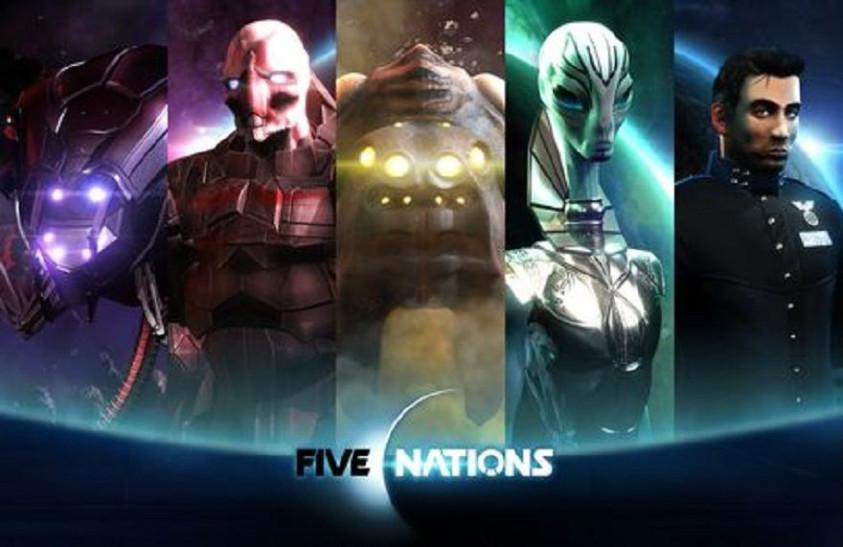 Космическая RTS. Обзор Five Nations