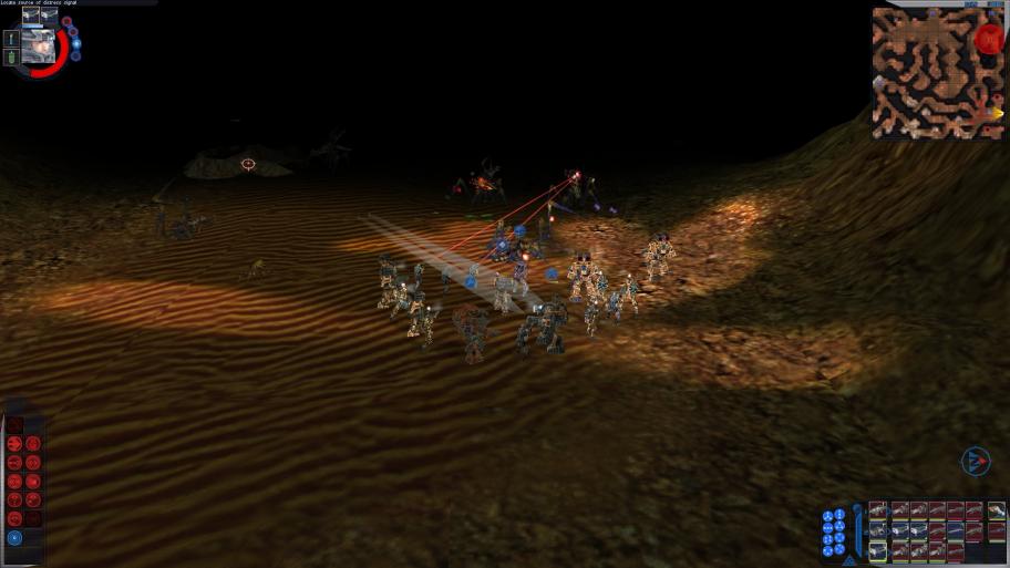 Увы, норазработчики нерискнули затемнить всю пещеру ради фонариков