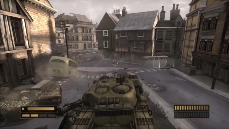Несколько раз запрохождение игроку дадут под управление танк, джип итранспорт Химер.