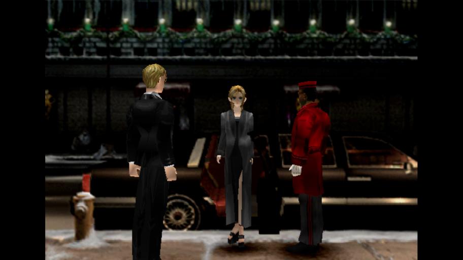 Вначальной сцене игра предлагает изменить имя главной героини, ноделать это необязательно.