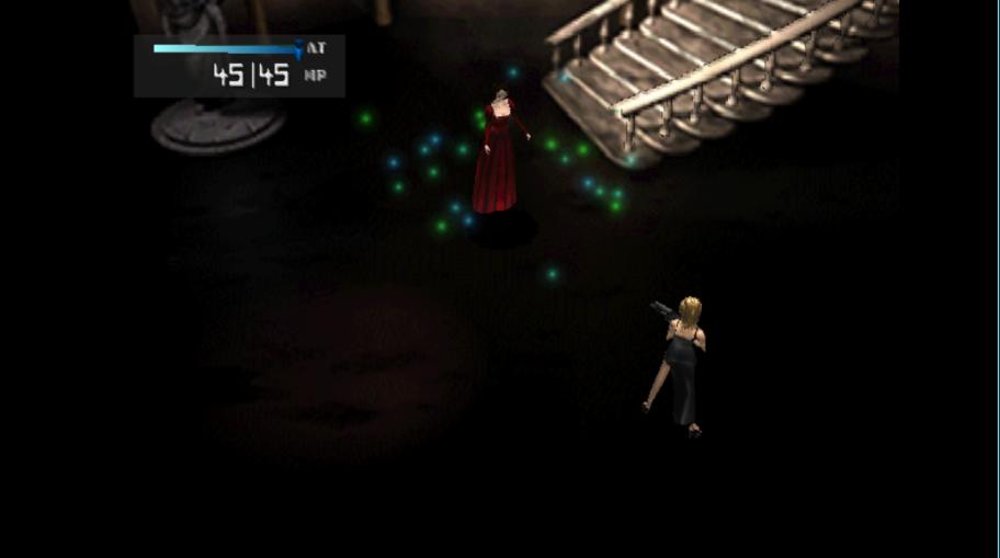 Самая первая битва сеще необращенной Мелиссой, прямо насцене театра. Грандиозное начало.