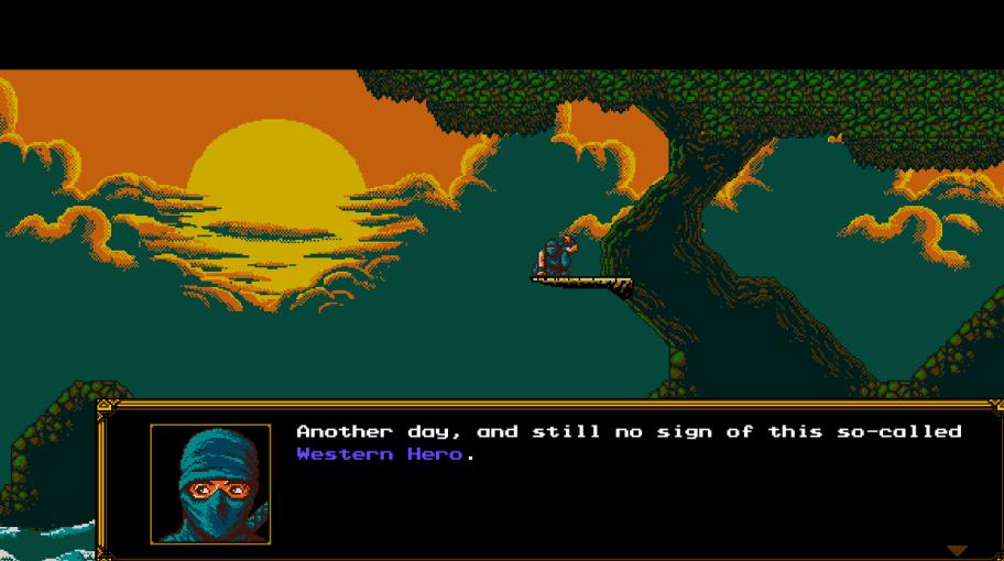 <i>Первый кадр игры, иуже захватывает дух.</i>