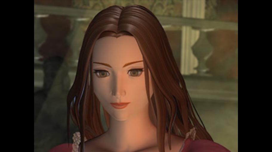 Вот эта красотка— Мелисса (Ева), главная злодейка, смотрит нато, как перед ееглазами сгорает заживо толпа людей.