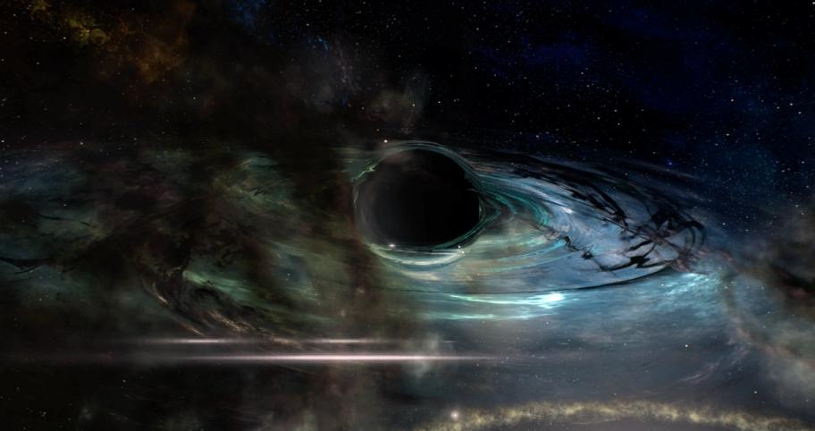 Чёрная дыра.