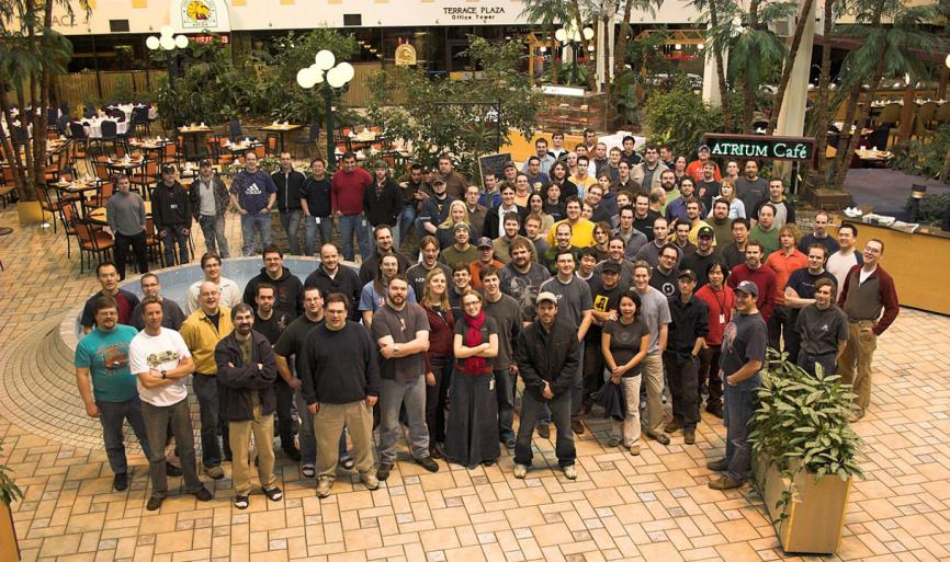 Команда Mass Effect.