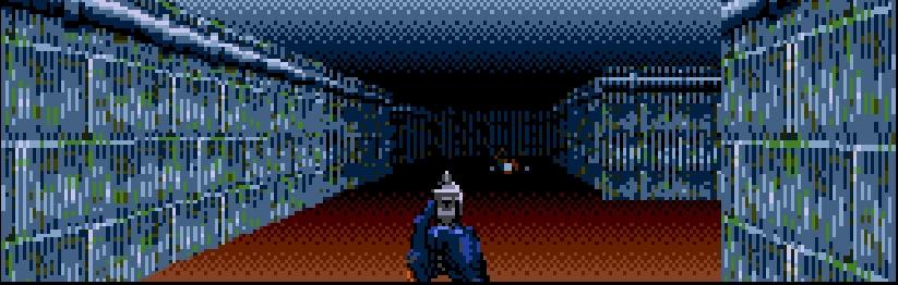 Один уровень— одна текстура, растянутая навсе стены сминимальным разнообразием. Даже вWolf 3D разнообразие было лучше.