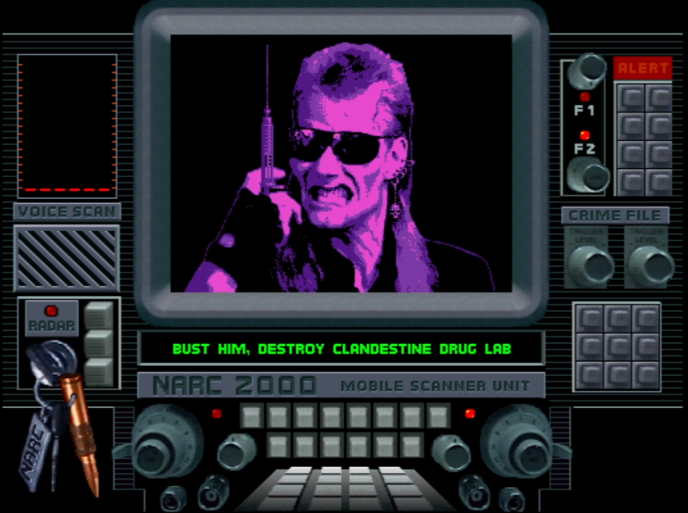 Доктор Спайк Раш— один изпротивников вигре. Атакует офицеров, метая вних шприцы сотравляющими веществами.