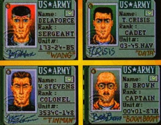 Стоит заметить, что вжурналах тех лет наскриншотах оперативники выглядели совсем по-другому, аихсамих было всего четверо.