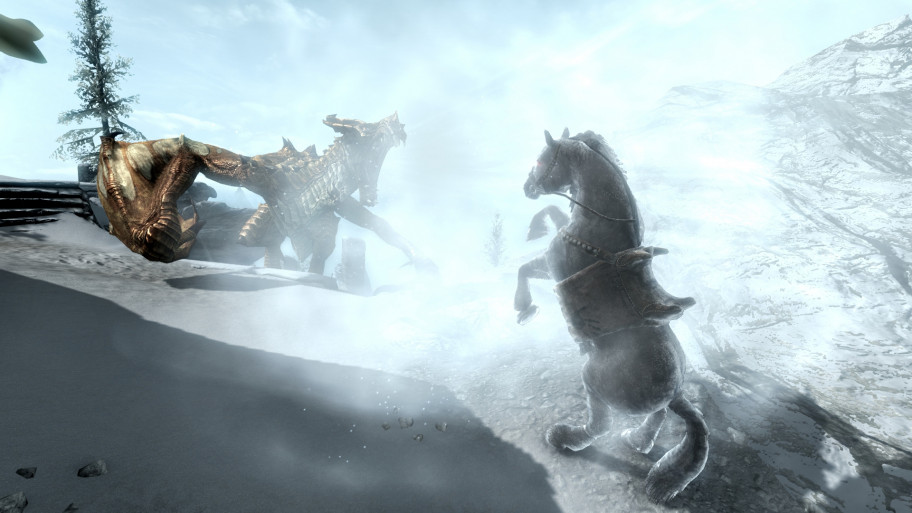 Делайте ставки, кто победит? Злой дракон или верный конь?