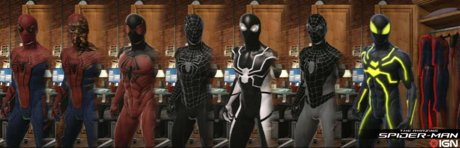В игре большое количество костюмов, но, увы, почти все они закрыты и придётся попотеть.