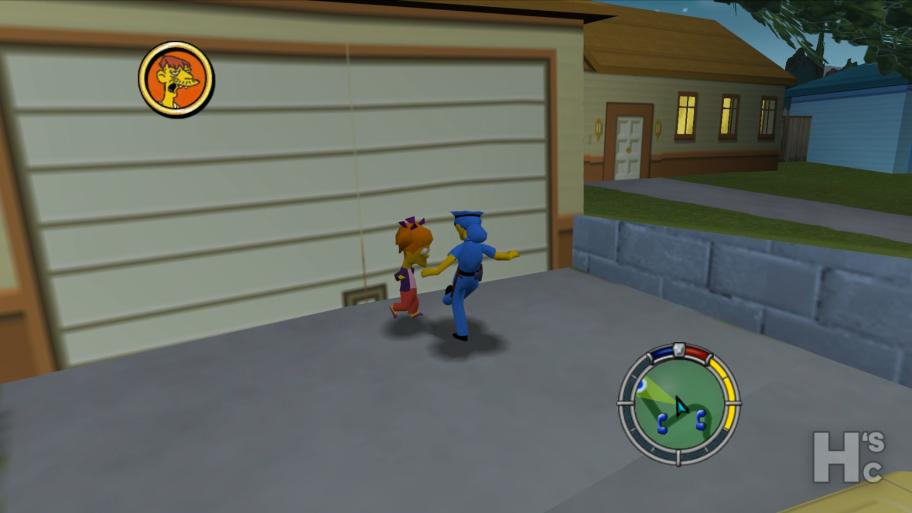 <b>А еще у Мардж есть костюм полицейского, в котором она может ходить по городу, угонять авто, бить людей... Нет, все-таки в Hit & Run немного больше общего с GTA, чем я думал</b>