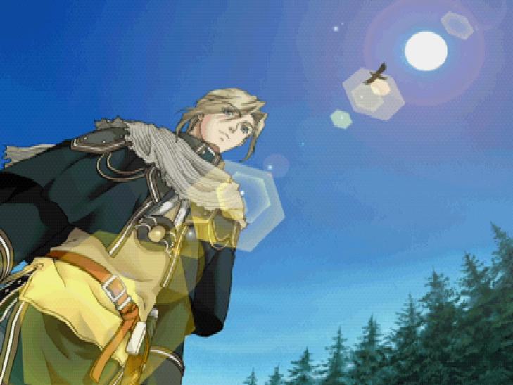 История серии Suikoden, часть 3 — спин-офф в жанре визуального романа