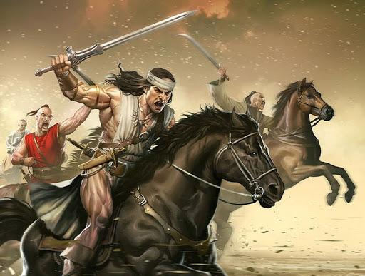 Вказачьем войске среки Запороска, Конану удалось дослужиться догетмана.