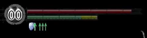 Показатели HP и Stamina из игры
