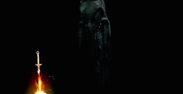 Каас рядом с костром в Бездне