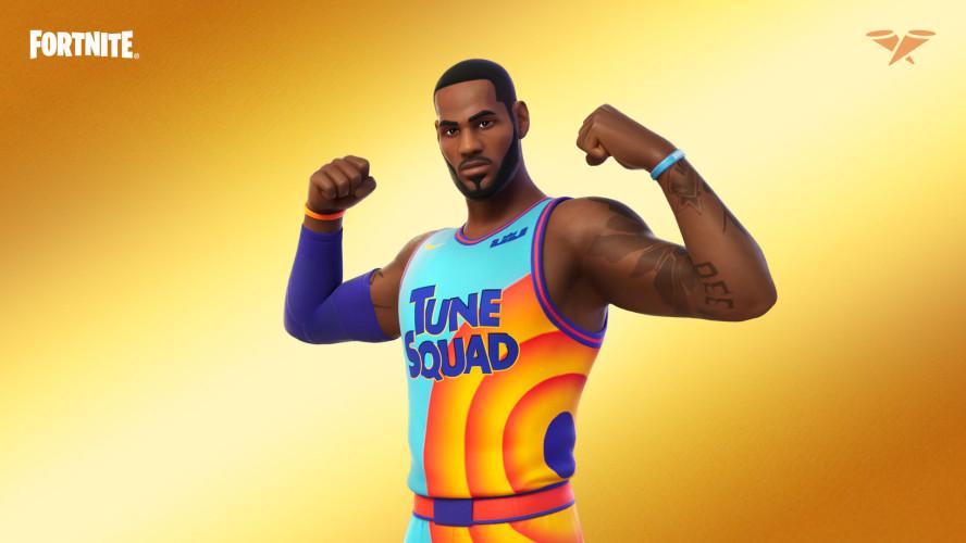Баскетболист Леброн Джеймс заглянет в Fortnite