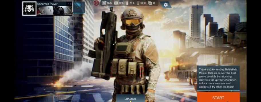 Геймплей и скриншоты из альфа-версии Battlefield Mobile