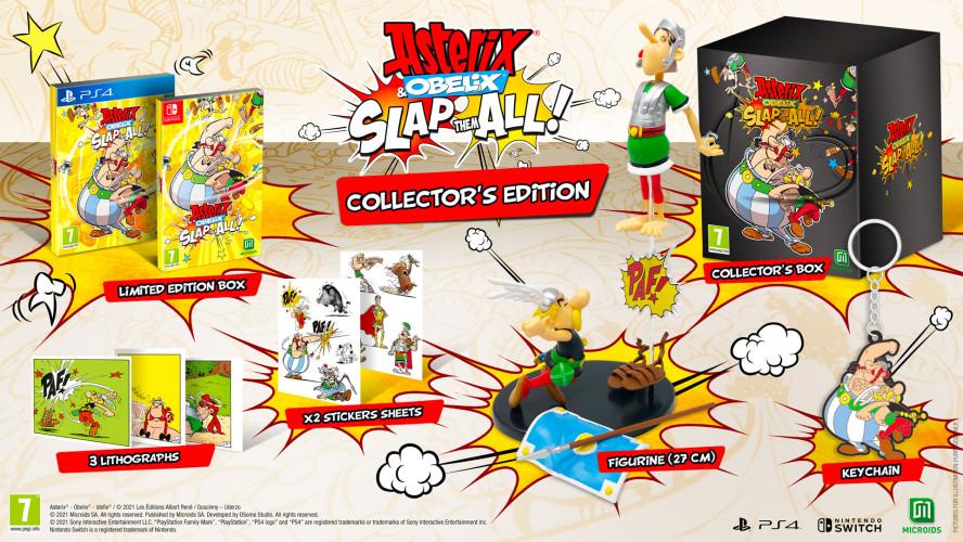 Красочный beat 'em up Asterix & Obelix: Slap them All! выйдет 25 ноября
