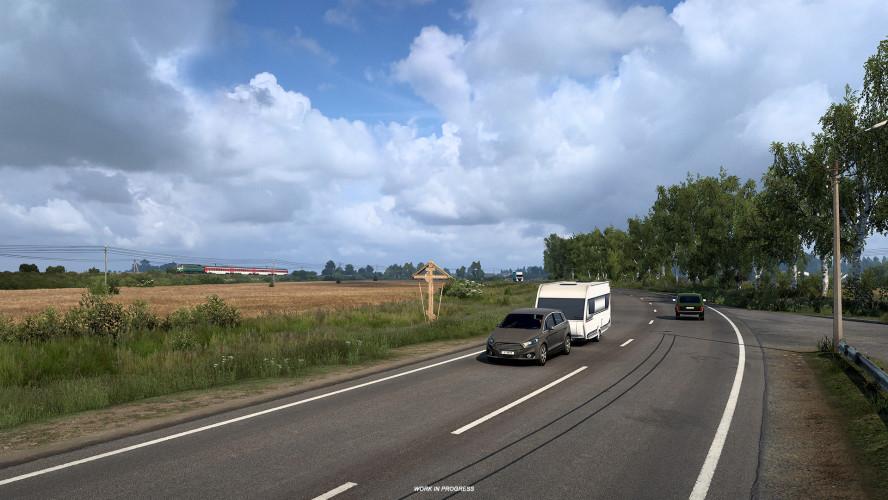 «Отчего так в России берёзы шумят?» Скриншоты с природой из Euro Truck Simulator 2 — Heart of Russia