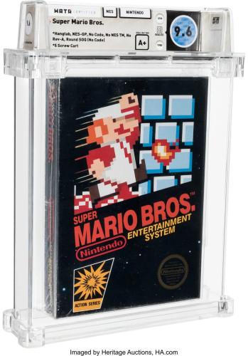 Копия Super Mario Bros. стала самой дорогой коллекционной вещью в игровой индустрии