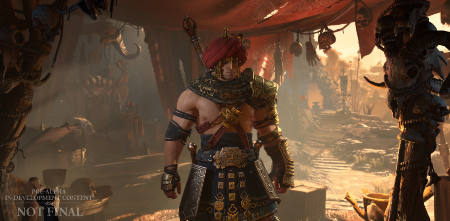 Ролики на движке, обширная кастомизация и реализм без ущерба уникальности — о дизайне персонажей Diablo IV