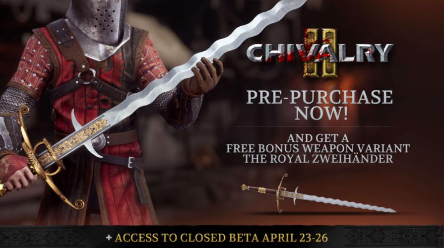 Chivalry II: старт консольных предзаказов и кросс-платформенная «бета»