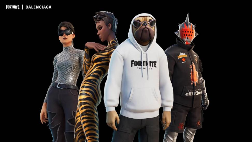 Модной игре — показ мод! 21 сентября в Fortnite начнётся коллаборация с Balenciaga