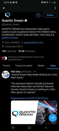 СМИ: игра по «Звёздным войнам» от Quantic Dream будет экшеном — вероятно, с открытым миром и мультиплеером