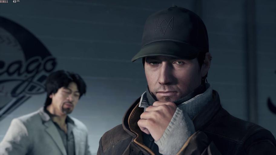 Эйден Пирс. Скриншот изпервой игры франшизы Watch Dogs.