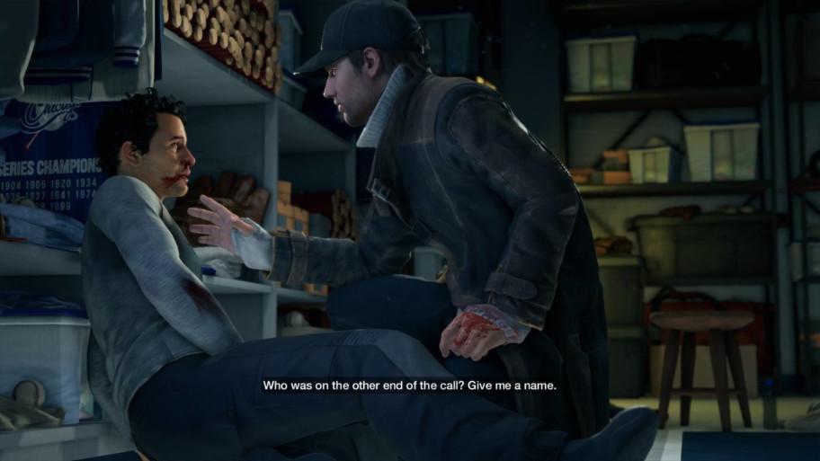Иигра уже стартует вмоменте где Эйден находит того самого человека, который входе неудачного покушения убил близкого Эйдену человека.