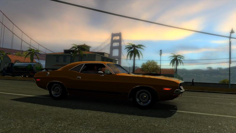 Графика времён кросс-гена PS2-PS3 не мешает уютной атмосфере этого Сан-Франциско.