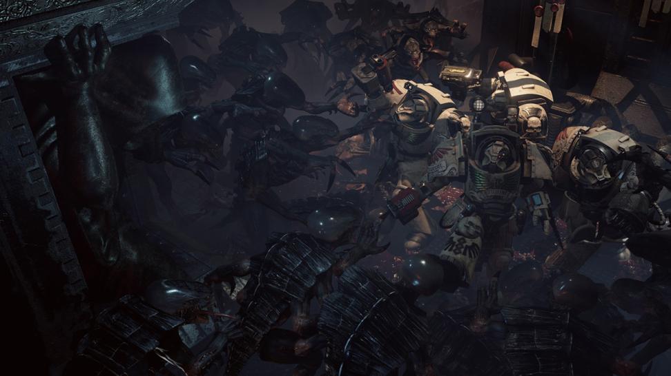 В 2016-м вышел кооперативный экшен Space Hulk: Deathwing, Который погрузил игроков в самую гущу событий на космическом скитальце «Олефрус».