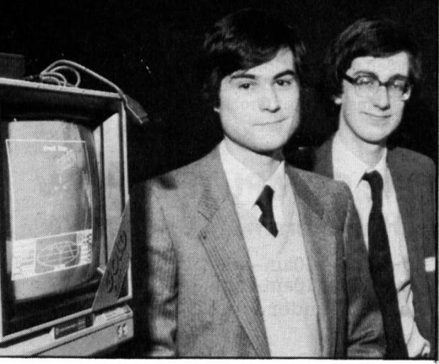 Архивное фото Яна Белла и Дэвида Брабена