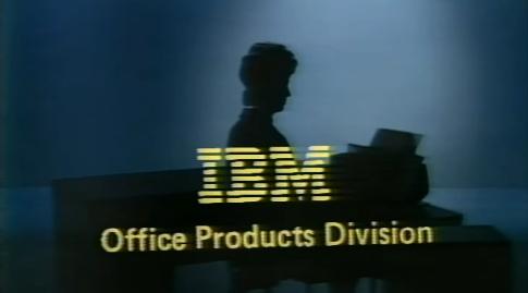 Логотип IBM 1974 год