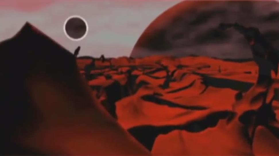 Черновая сцена в 3D аниматике