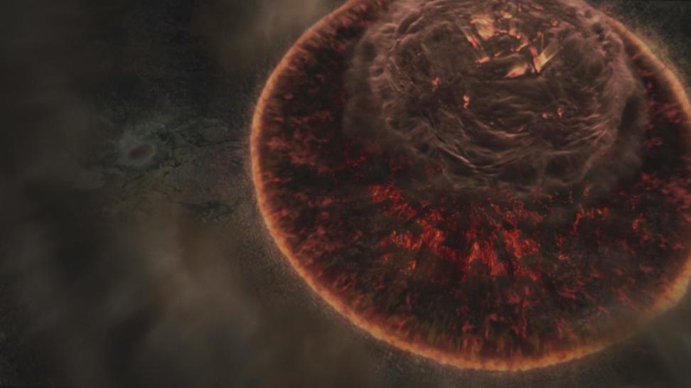 Уничтожение родной планеты фантомов